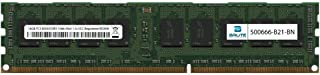 Brute Networks 500666-B21-BN - 16GB PC3-8500 DDR3-1066Mhz 4Rx4 1.5v ECC Registered RDIMM (Equivalent to OEM PN # 500666-B21)