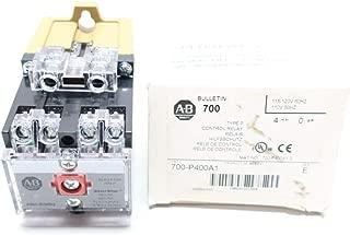 ALLEN BRADLEY 700-P400A1 Control Relay 115-120V-AC SER E
