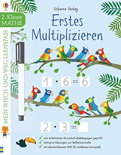 Mein Wisch-und-weg-Lernspaß: Erstes Multiplizieren: 2. Klasse
