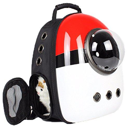 ELINA SEA 犬 猫用 ペット バッグ ペット用キャリーバッグ 宇宙船カプセル型ペットバッグ 犬猫兼用 ペット...