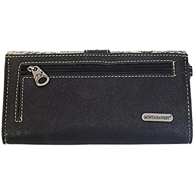 Montana West Western Women's Handbag-MW112-W002 (Black)