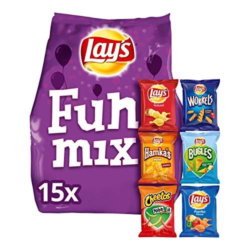 Lay's Fun Mix Chips 6 Geschmacksrichtungen - Beutel 370 Gramm
