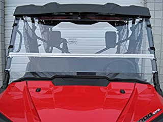 Pioneer 1000 FULL-TILT WINDSHIELD . We need to know what kind of roof you have Hard or Soft? Check email/junk file for message after order is placed.