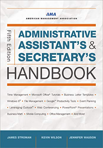 Image OfAdministrative Assistant's And Secretary's Handbook