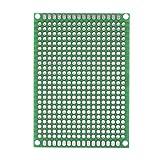 10 piezas 5 cm x 7 cm placas de prototipo PCB de doble cara creación de prototipos DIY soldadura placa de circuito PCB universal para soldar