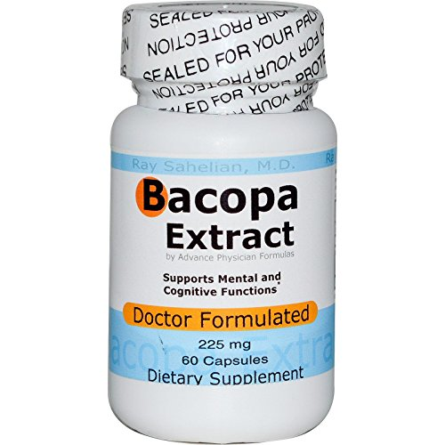 Advance Physician Formulas Bacopa Extract, 225 mg, 60 Capsules