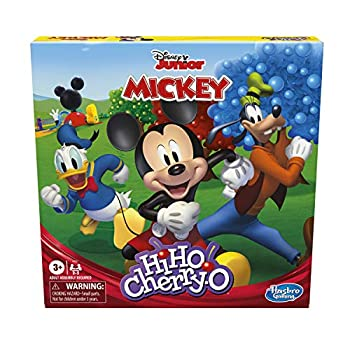 Hasbro Gaming Hi Ho Cherry-O Game Disney Mickey Mouse Clubhouse Edition  Amazon Exclusive