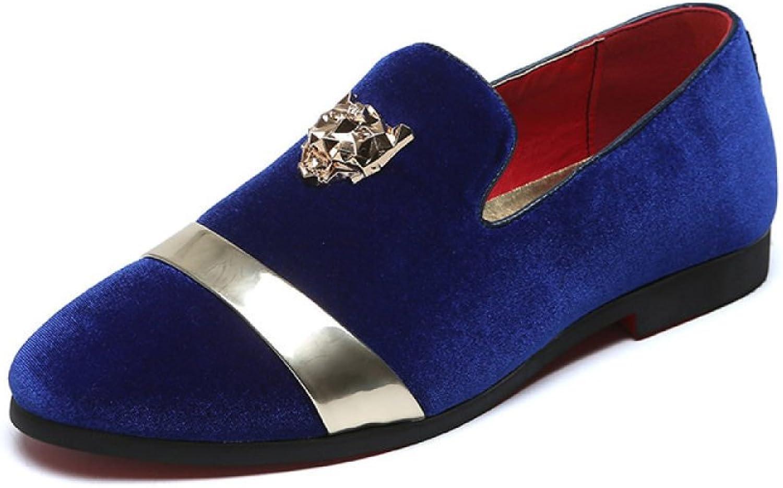 MYXUA MYXUA MYXUA Herrenschuhe Liebe Schuhe Stiefelschuhe Faule Schuhe Mode Persönlichkeit 775505