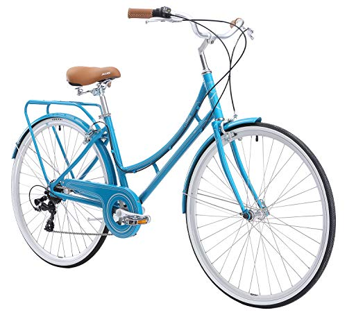 Nadine SE Women's Aluminum Step-Thru City Bike (Blue, 7 Speed/Medium)