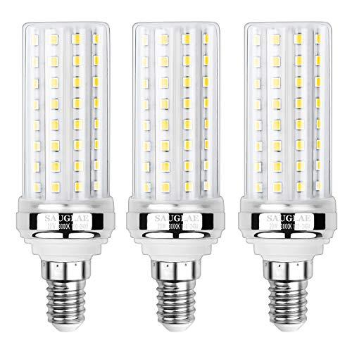 Sauglae 20W LED Mais Glühbirnen, 150W Glühlampen Äquivalent, 3000K Warmweiß, 2000Lm, E14 Kleine Edison Schraube Glühbirnen, 3 Stück