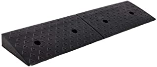 Truck Ramps, Factory Doorway Uphill Pad Rubber Threshold Ramps Stable Wearable Loading Ramps 7-10CM (Size : 98 * 25 * 7CM)