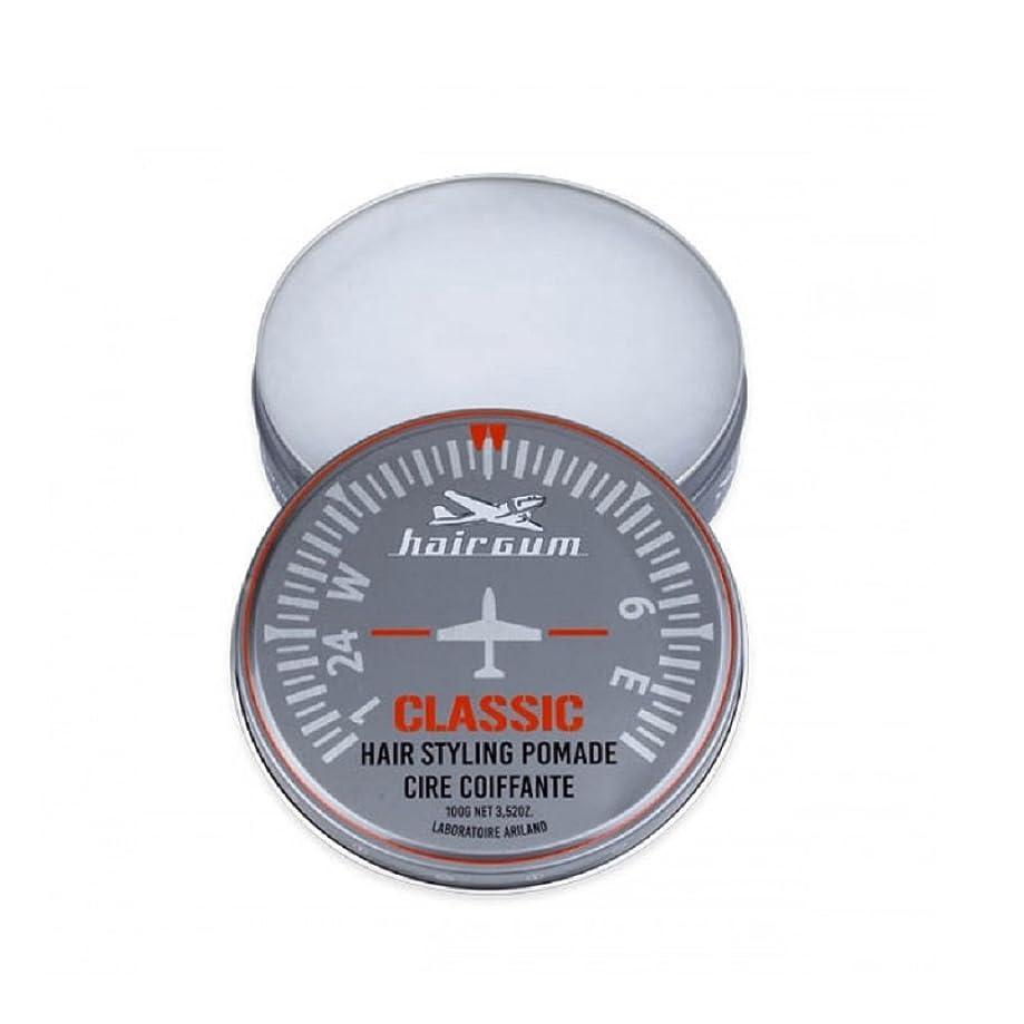 スペインロイヤリティゴールドhairgum(ヘアガム) Classic Pomade 100g ヘアガム クラシック 油性ポマード