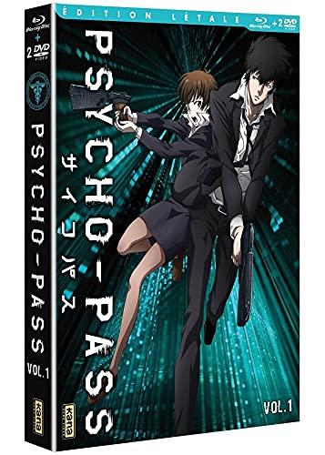 Psycho-pass - Vol. 1 [Édition Létale Blu-ray + DVD]