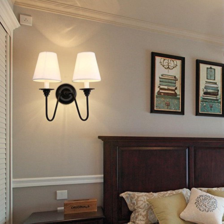 StiefelU LED Wandleuchte nach oben und unten Wandleuchten Schlafzimmer Wandleuchten Hotels Zimmer Bett Wandleuchten treppen Wohnzimmer Dekorative Wandleuchte aus der Wand 14 Cmh 35 cm, Dual Head