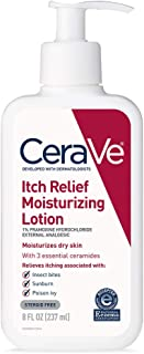 CeraVe Moisturizing Lotion for Itch Relief | 8 Ounce | Dry Skin Itch Relief Lotion with Pramoxine Hydrochloride | Fragranc...