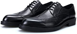Simple Carved Oxford Shoes Formal Shoes (Color : Black, Size : 39)