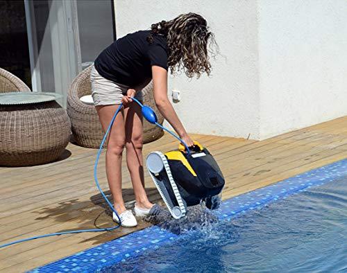 Dolphin E20 - Elektrischer Reinigungsroboter, Poolroboter mit PVC Bürste, Pool Roboter für alle Poolformen - 7