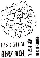 ドイツの小動物透明クリアシリコンスタンプシールDIYスクラップブッキングフォトアルバム装飾クリアスタンプM1381