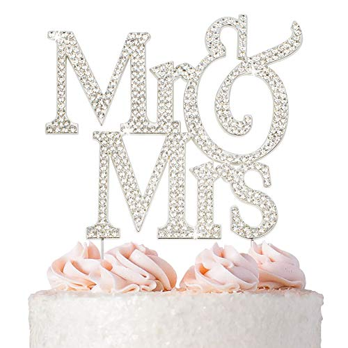 Our #6 Pick is the Just Customized Personalized Wedding Cake Topper