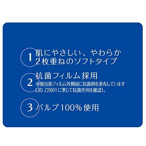 エリエールペーパータオルプラスキレイ(Plus+キレイ)120組×5パックパルプ100%抗菌フィルム