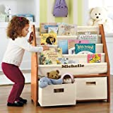 bookshelf for homeschool supplies