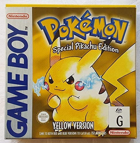 Pokémon Yellow: Special Pikachu Edition [Game Boy] [Producto Importado]