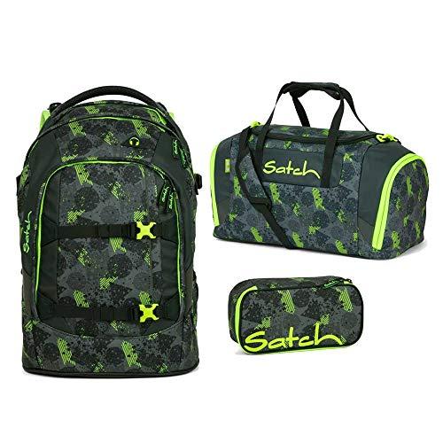 Satch Pack Off Road 3er Set Schulrucksack, Sporttasche & Schlamperbox