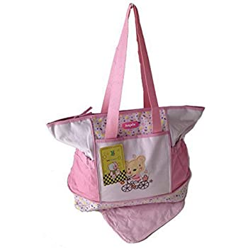 2 tlg Wickeltasche Pflegetasche Windeltasche Babytasche Reise Farbauswahl