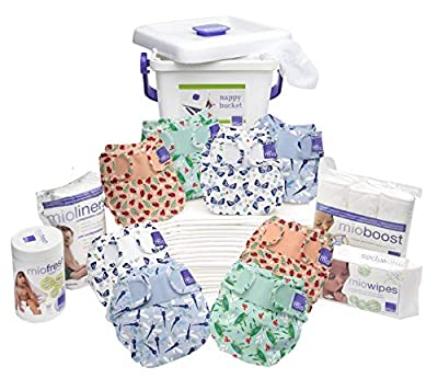 Bambino Mio, Miosoft Cloth Diaper Premium Birth to Potty Pack..