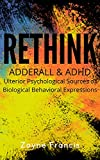 RETHINK Adderall & ADHD: Ulterior Psychological Sources of Biological Behavioral Expressions (English Edition)