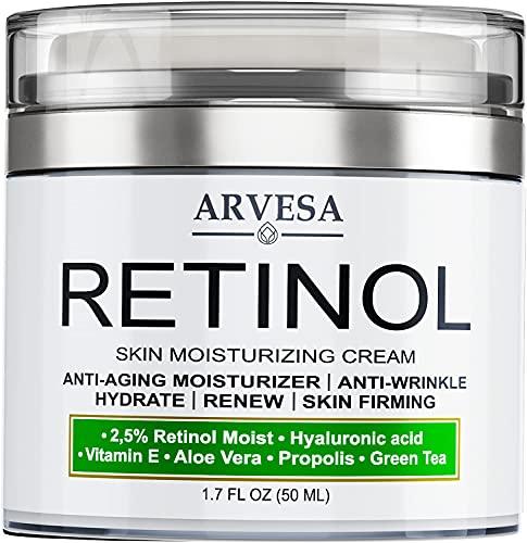 Mejores Crema Para Las Manchas Blancas En La Cara Y Piel, Crema Hidratante Antienvejecimiento Con Retinol Para El Rostro