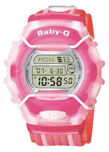 Casio Baby-G BG-1003AN-4ER - Reloj de mujer de cuarzo con correa textil multicolor
