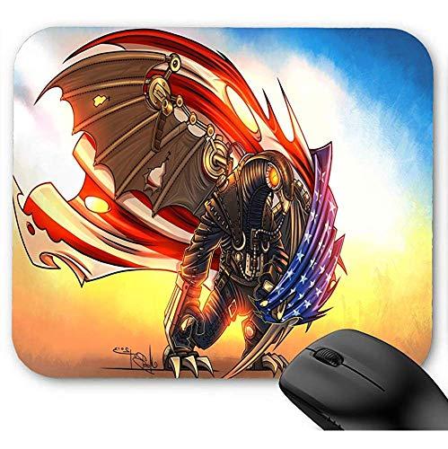 Maus Pad,Office Mauspad,Rutschfeste Unterseite Mousepad,Gaming Mausepad,Bioshock Infinite Songbird Bioshock Mauspad 30X25Cm