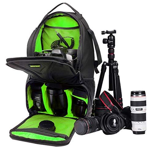 Xyamzhnn Bolso de la cámara for GoPro, SJCAM, Nikon, Canon, Xiaomi Xiaoyi YI, iPad, Apple, Samsung, Huawei, Impermeable a Prueba de arañazos Deportes al Aire Libre de la Honda del Hombro del Bolso de