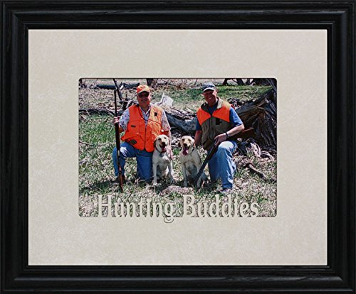 PersonalizedbyJoyceBoyce.com Hunting Buddies Frame ~ Holds a Landscape 5x7 Picture/Photo (Black)