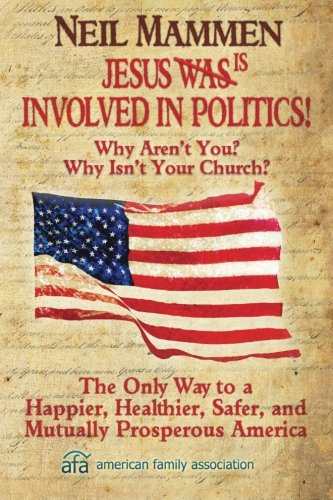 Image of Jesus is involved in politics!: Why aren't You? Why isn't your Church?