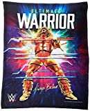 WWE, 'Ultimate Warrior' HD Silk Touch Throw Blanket, 50' x 60', Multi Color
