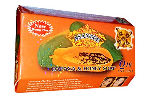(3PCS) ASANTEE PAPAYA & HONEY SOAP 125G