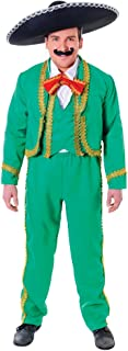 Bristol Novelty AC663 Mexican Man Costume, White, 44-Inch