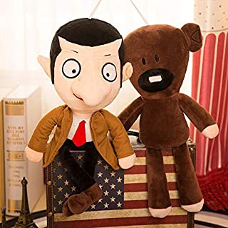 Stuffed toy 2pcs 50cm Movie Mr Bean Teddy Bear Cute Plush Stuffed Toys Mr.bean Teddy Bear Plush Toys For Children Birthday...