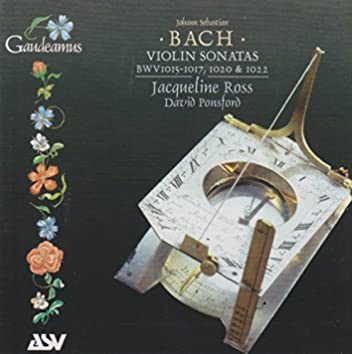 J.S. Bach: Violin Sonatas BWV 1015-1017, 1020 & 1022