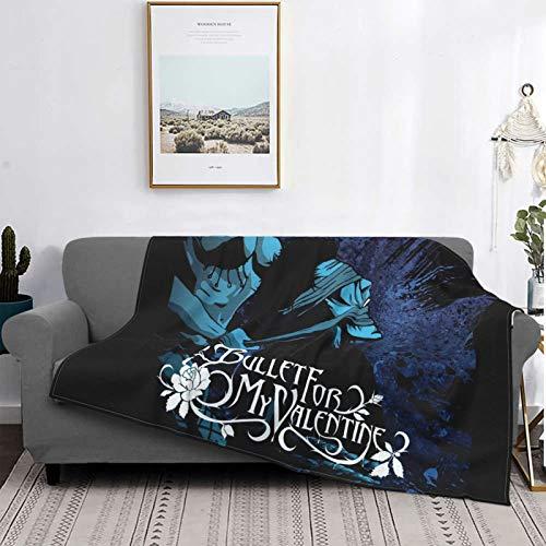 EsterKirk Bullet For My Valentine - Manta de franela para sala de estar, sofá, tamaño king