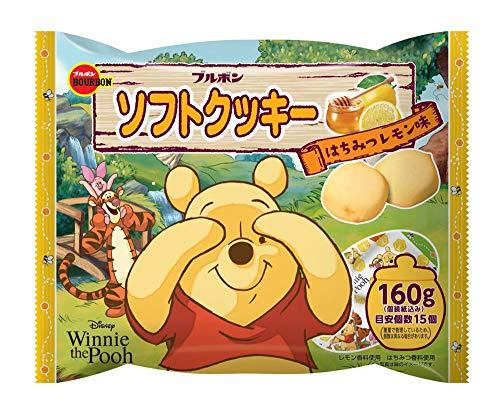 ブルボン ソフトクッキーはちみつレモン味(くまのプーさん) 160g ×12袋