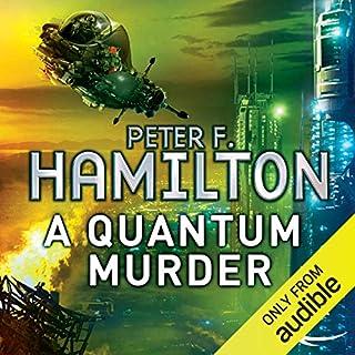 A Quantum Murder audiobook cover art