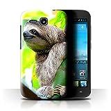 Hülle Für Huawei Ascend Y600 Wilde Tiere Faultier Design
