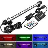 Mingdak LED Aquarium Light kit - RGB Color Changing Remote Control Fish Tank