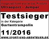 Ultrasport Gartentrampolin Jumper 430 cm - 10