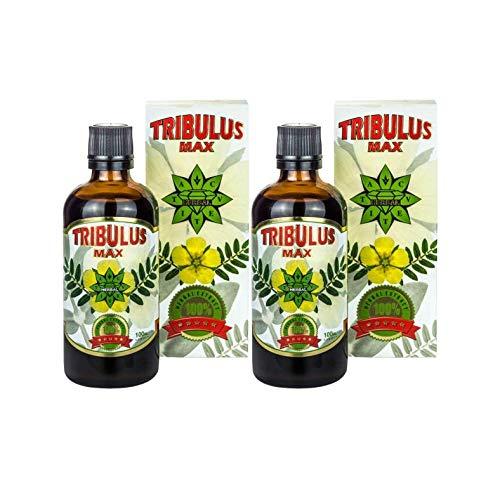Tribulus Max | 100ml Natural Liquid Extract (2 Months Supply) | Tribulus Terrestris | Suitable for Vegetarians & Vegans by Cvetita Herbal (200ml)