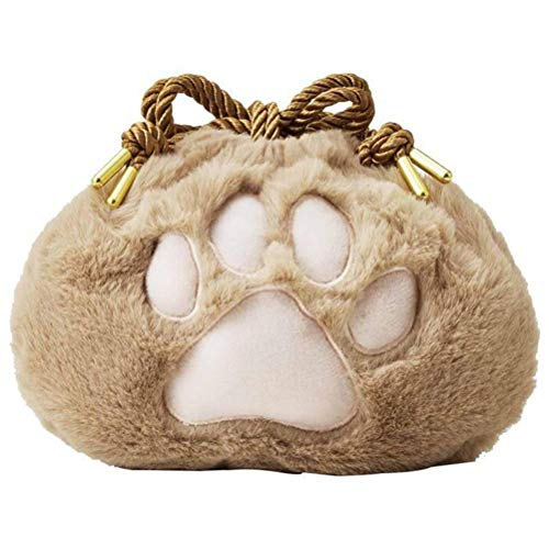 Yuanqu Animal Bag, Cat Paw Storage Bag Women Coin Pouch Girl Travel Storage Drawstring Bags Lady Kids Purses Bundle Pocket Festival Gift