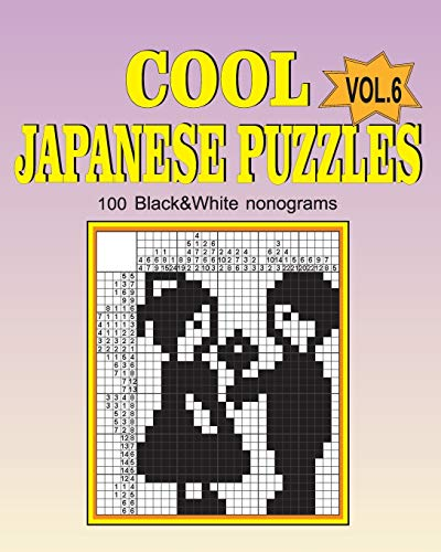 Cool japanese puzzles (Volume 6)